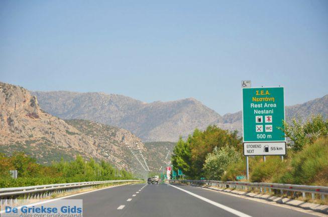 Op weg met de auto door Griekenland - autorondreis